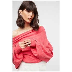 Free People Skyline Off the Shoulder Thermal Top